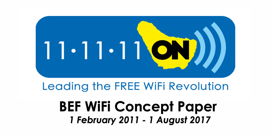 BEF Free Wifi Concept Paper 2017