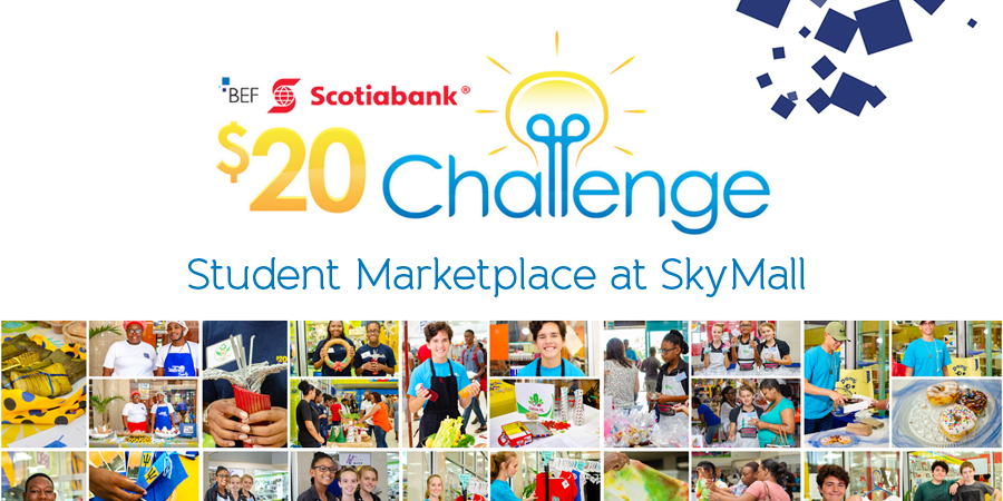 Photos from the BEF Scotiabank $20 Challenge Marketplace at Skymall