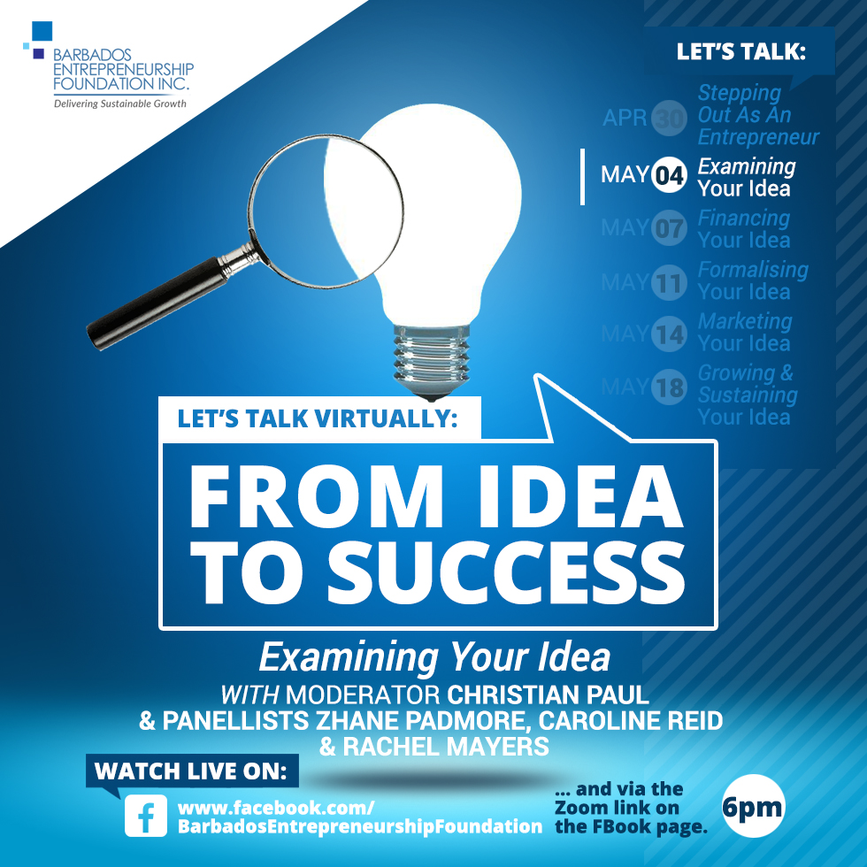 Let's Talk Virtually: From Idea to Success - Examining Your Idea