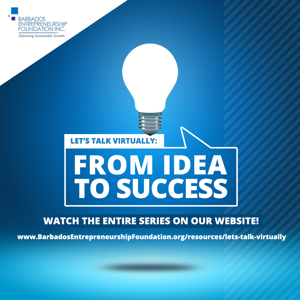 Let's Talk Virtually: From Idea to Success. Watch the entire series right here!